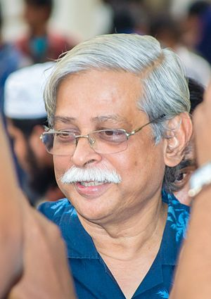Bengali science fiction - Muhammed Zafar Iqbal at Ekushey Book Fair, Dhaka in February 2015.