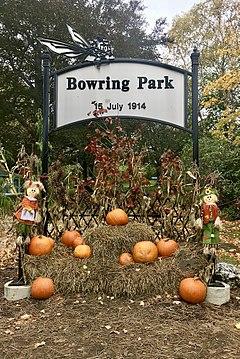 Entrée du parc Bowring, St.John's, Terre-Neuve.jpg