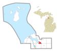 Boyne City, Michigan location.png