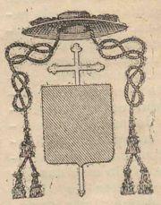 Brasão de Abade Mitrado.