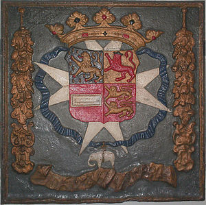 John Maurice, Prince of Nassau-Siegen - Brazilian depiction of arms of Johan Maurits