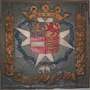 John Maurice, Prince of Nassau-Siegen - Brazilian depiction of arms of Johan Maurits