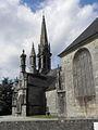 Brasparts (29) Enclos paroissial Église Extérieur 04.JPG