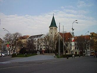 SNP Square (Bratislava) - Image: Bratislava 2007 3 28 16