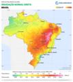 Brazil DNI Solar-resource-map lang-PT GlobalSolarAtlas World-Bank-Esmap-Solargis.png