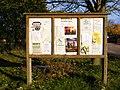 Bredfield Village Hall Notice Board - geograph.org.uk - 1029313.jpg
