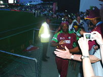 Brian Lara's final match - the lap of honour