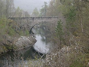 River Glass, Strathglass - Fasnakyle Bridge