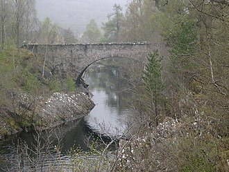River Glass, Strathglass - Fasnakyle Bridge