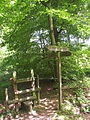 Bridle-footpath crossroads, Wigginton - geograph.org.uk - 28841.jpg