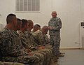 Brig. Gen. Charles Gailes and CSM William Jones visit 2101st TC Soldiers DVIDS339018.jpg