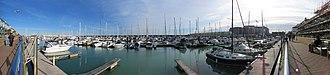 Brighton Marina - Image: Brighton Marina Inner Harbour panorama