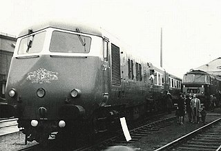 British Rail Classes 251 and 261 luxury trains used from 1960 to 1973 by British Railways