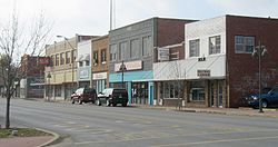 Main Street in Bristow