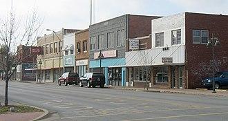 Bristow, Oklahoma - Main Street in Bristow