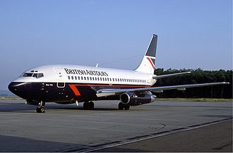 British Airtours Flight 28M - A similar British Airtours Boeing 737–236 Advanced, named River Wey, wearing British Airtours' Landor Associates livery at the time of the accident.