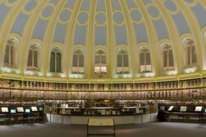 The Day of the Jackal (film) - The Reading Room at the British Museum Library, where the Jackal reads Le Figaro