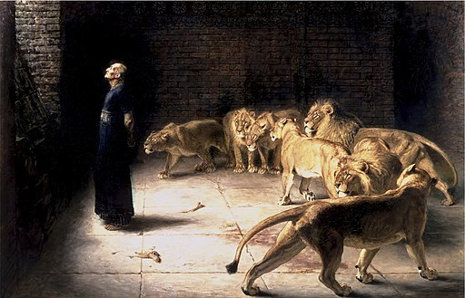 Briton Riviere - Daniel's Answer to the King (Manchester Art Gallery)