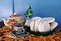 Broa brasileira, um pão da culinária brasileira..JPG