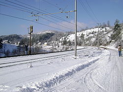 Brod Moravice railway station