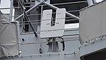 Browning M2 gun mount on JS Sendai (DE-232) at JMSDF Maizuru Naval Base July 29, 2017.jpg