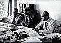 Bruce-Chwatt, Macdonald and Alvarado. Photograph. Wellcome V0028100.jpg