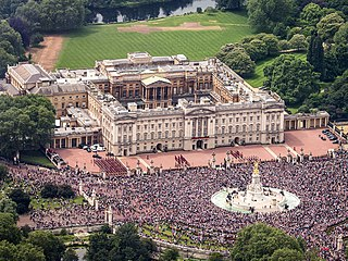 Buckingham Palace Official London residence and principal workplace of the British monarch