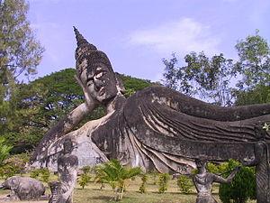 Buddha park, lao pdr