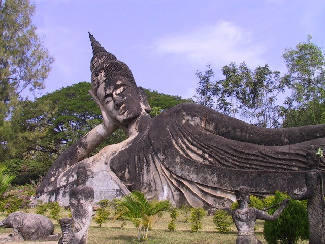 Buddha park, lao pdr