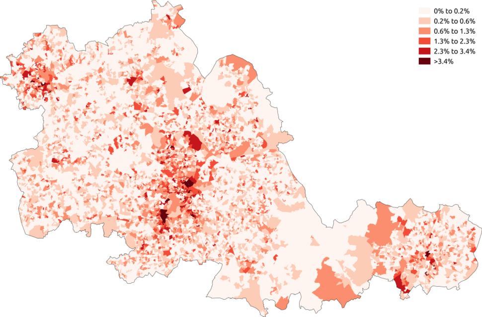 Buddhism West Midlands 2011 census