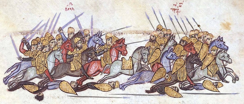 Bulgarians defeat the Byzantines at Anchialos