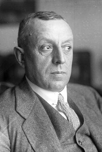 Mülheim - Fritz Thyssen in 1928