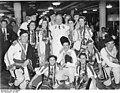 """Bundesarchiv Bild 183-E08883, KdF-Schiff """"Robert Ley"""", Empfang von Bulgaren.jpg"""