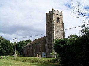 Bunwell - Image: Bunwell church