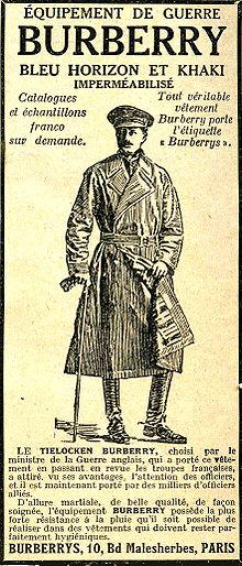 Publicité pour équipement de guerre (1917) adc582779dd