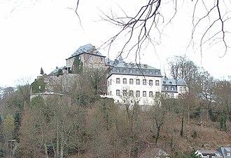 Blankenheim Castle - Image: Burg Blankenheim Cropped