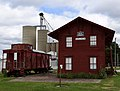 Burlington, Cedar Rapids, and Minnesota Railroad Walker Station, Walker, IA.jpg