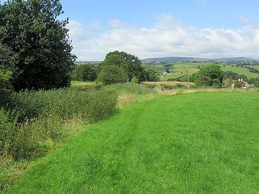 Burnley Way above Hunters Oak (geograph 4085512)