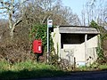 Bus shelter, Moreton Station - geograph.org.uk - 1636867.jpg