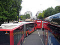 Buses in London, 6 August 2011.jpg