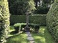 Bust of Inigo Jones on Pedestal at Plas Brondanw Gardens.jpg