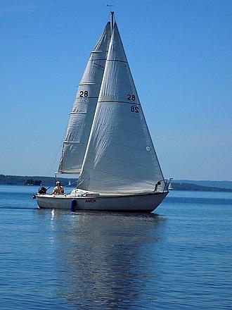 Redline 25 - Image: C&C Redline 25 sailboat Amok 3199
