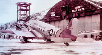 Northeast Air Command - C-47 at Sondrestrom AB, Greenland