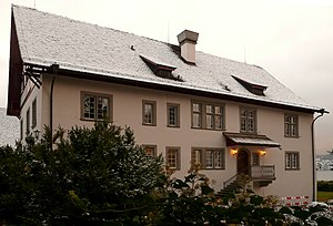 C. G. Jung institute in Küsnacht, Switzerland....