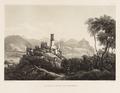 CH-NB - Godesberg, Ruine, von Westen, mit Siebengebirge und Königswinter - Collection Gugelmann - GS-GUGE-BLEULER-2a-70.tif