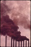 CHIMNEY OF U.S. STEEL PLANT EMIT SMOKE 24 HOURS A DAY - NARA - 545439.jpg