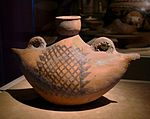 CMOC Treasures of Ancient China exhibit - boat-shaped pot.jpg