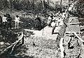 COLLECTIE TROPENMUSEUM Aanleg van een dijk in een sawa-polder bij Soengaibakau Ketjil met op de hoek van de dijk adjunct-landbouwconsulent Asmadi Danoekoesoema TMnr 10020023.jpg