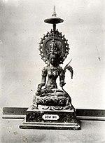 COLLECTIE TROPENMUSEUM Beeld van Dewi Sri de rijstgodin TMnr 60016918.jpg