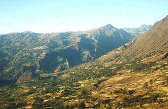 Cabana, Peru - Cabana as seen from Tauca District